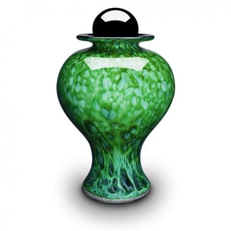 Urna Céleste Verde Bosque